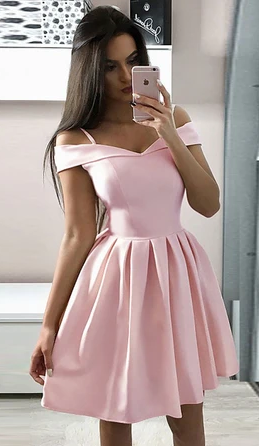 2020 Simple Homecoming Dress , Popular Short Prom Dress ,Fashion Dancel Dress PDH0051