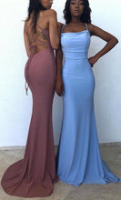 Load image into Gallery viewer, 2021 Mermaid Simple Long Prom Dress , School Dance Dresses ,Fashion Winter Formal Dress PPS084