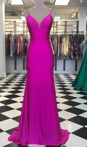 Simple Mermaid Long Prom Dress ,School Dance Dresses ,Fashion Winter Formal Dress PPS107