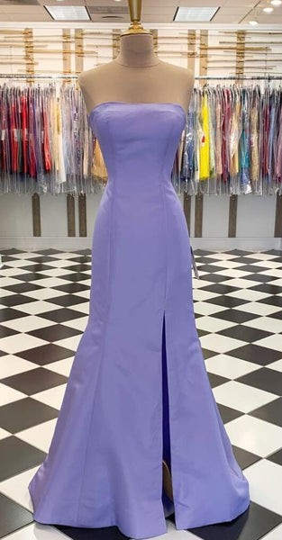 Strapless Mermaid Long Prom Dress ,School Dance Dresses ,Fashion Winter Formal Dress PPS120