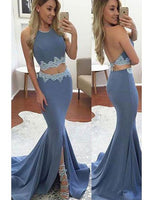 Sexy Mermaid Long Prom Dresses Fashion School Dance Dress PDP0460