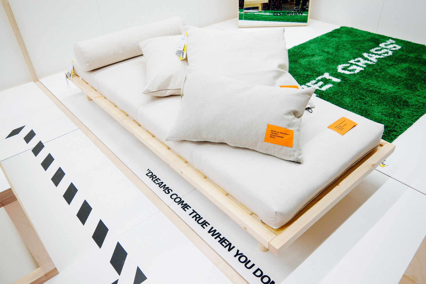 Virgil Abloh Ikea collaboration