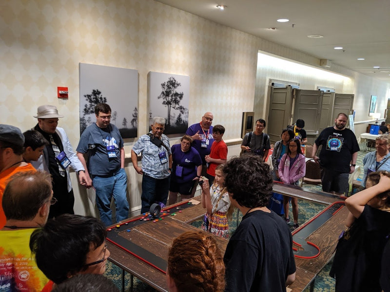 The Pits! Racing Game Crew @ Dice Tower 2019 Orlando, FL