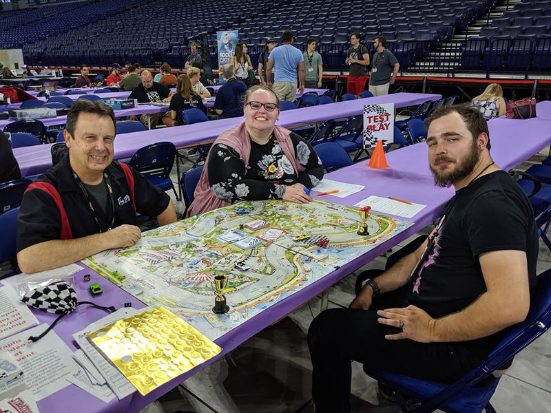 The Pits! Racing Game - Gen Con Day 2