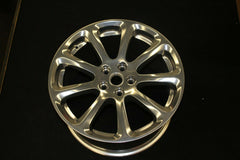 Maserati Ball Polished Rear Wheel Rim