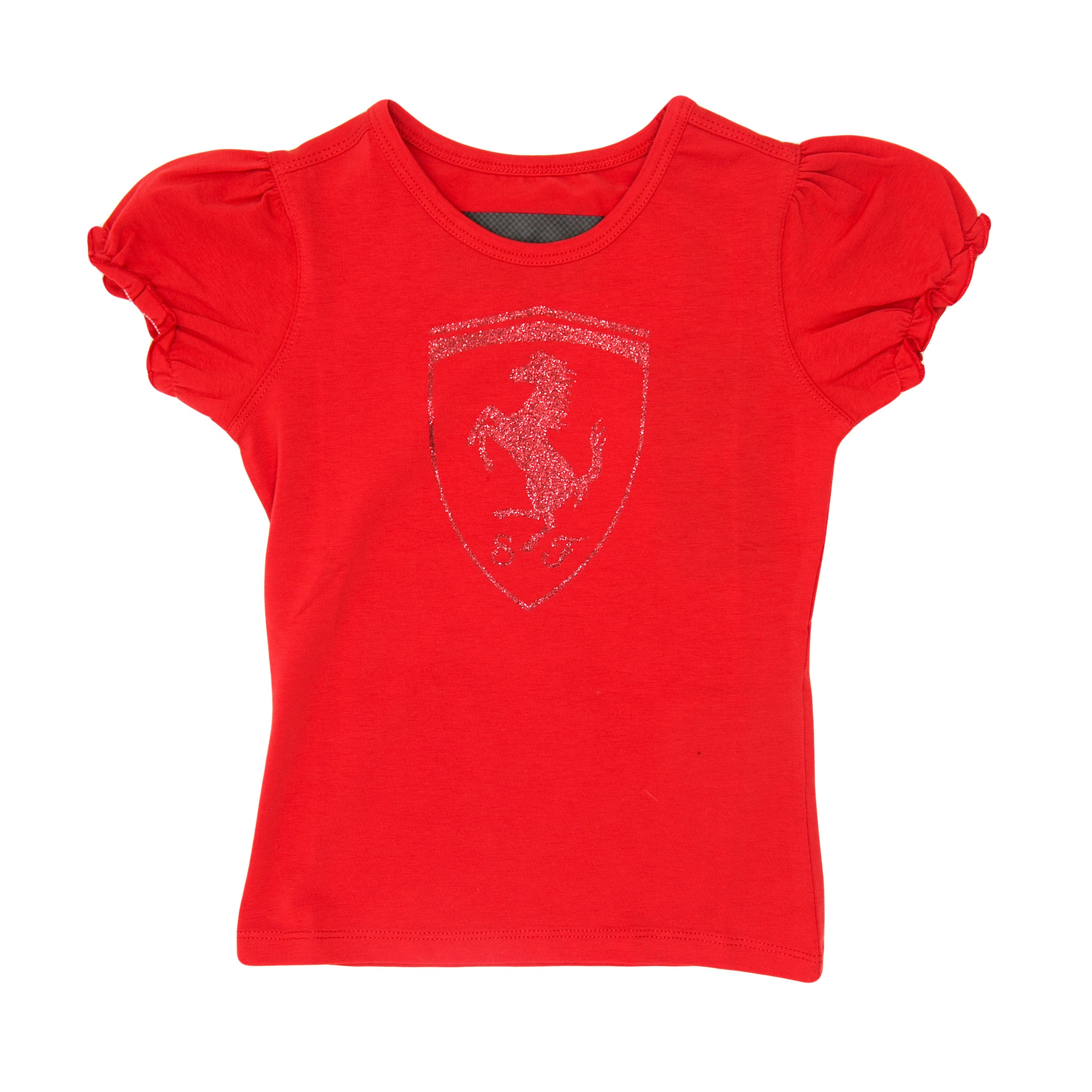 Girls Shield Glitter T-shirt  *MORE COLORS AVAILABLE