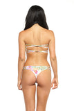 Braided Thong Bottom - Blossom