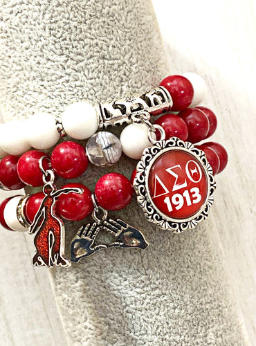 Delta Themed 3 Bracelet Set