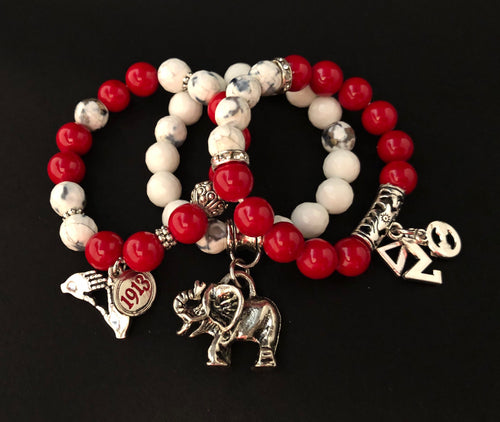 Delta Themed Bracelet Set