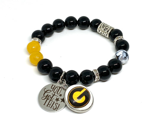 Grambling Themed Inspirational Spirit Bracelet