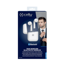 Carica l'immagine nel visualizzatore di Gallery, ZED 1 - BLUETOOTH EARPHONES WHITE [TRUE WIRELESS] CELLY