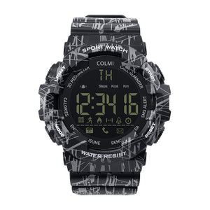 COLMI EX16C Camo Smartwatch 5 ATM Waterproof Spingiti oltre.