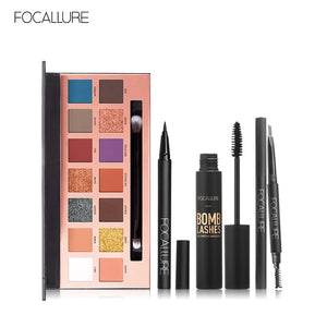 FOCALLURE 4pcs Makeup Set