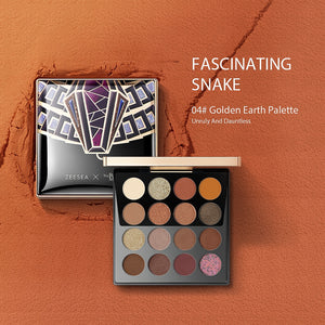 ZEESEA The British Museum Egypt Collection Ombretto Shimmer Matte Glitter.