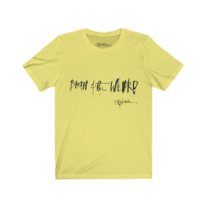 """Birth of the Weird"" Ralph Steadman T-Shirt Yellow"
