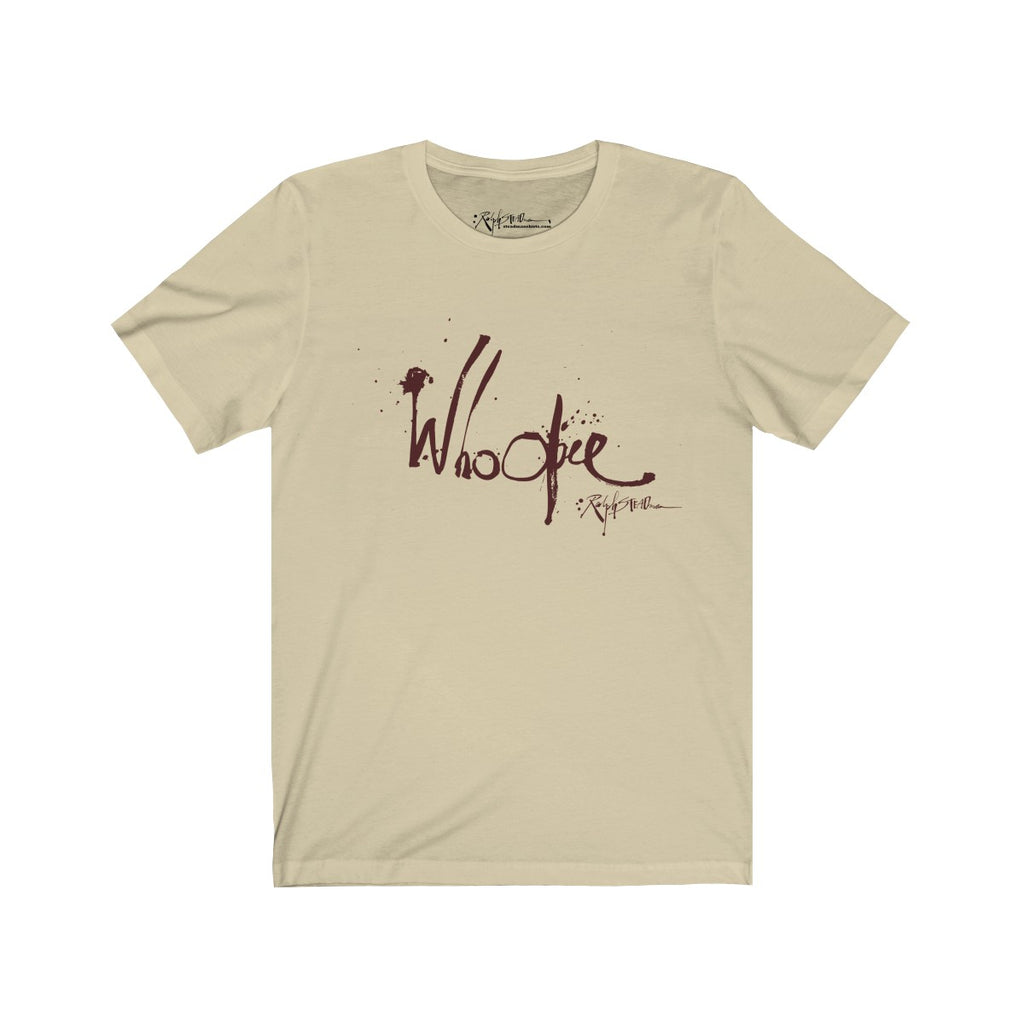 """Whoopee"" Ralph Steadman T-Shirt Cream"