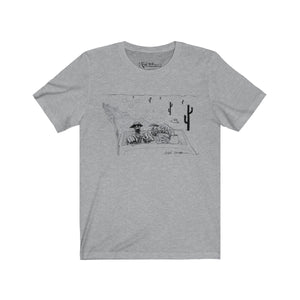 Fear and Loathing Ralph Steadman T-Shirt Grey