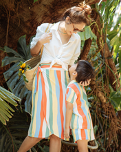 Load image into Gallery viewer, Rainbow Mom Wrap Skirt