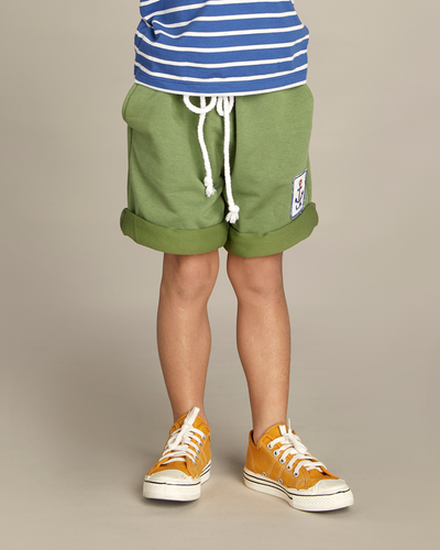 Green Bermuda Shorts