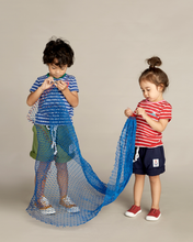 Load image into Gallery viewer, Blue Lobster Striped Tee