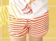 Load image into Gallery viewer, Red Stripes Shorts