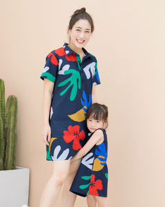 Hibiscus Mom Dress