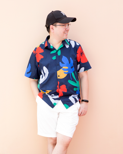 Hibiscus Adult Shirt