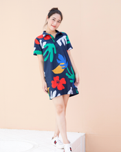 Load image into Gallery viewer, Hibiscus Mom Dress