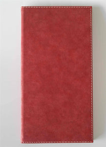 Set of 25, Wine List Covers for  Hardcover Suede Design Available in 11 colors - Rattanglobal