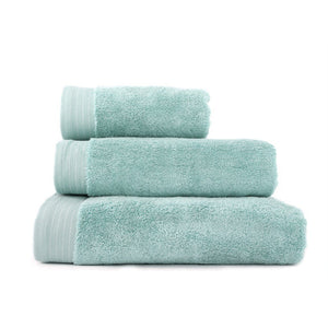 "Hand Towel Series Spa Blue %100 Cotton 12""x20"" (30x50 cm) - Rattanglobal"