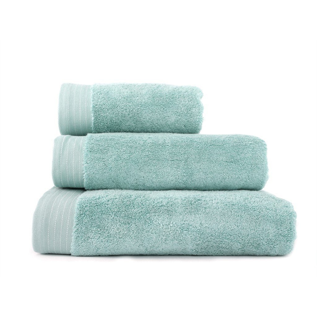Hand Towel Series Spa Blue %100 Cotton 12