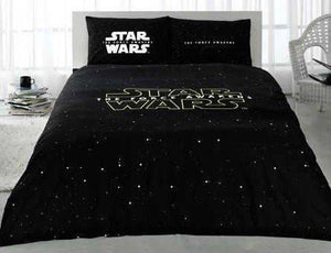 STAR WARS Full Double Queen Size Quilt Duvet Cover Set Bedding - Rattanglobal