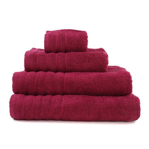 "Hand Towel Series Fuchsia  %100 Cotton 12""x20"" (30x50 cm) - Rattanglobal"