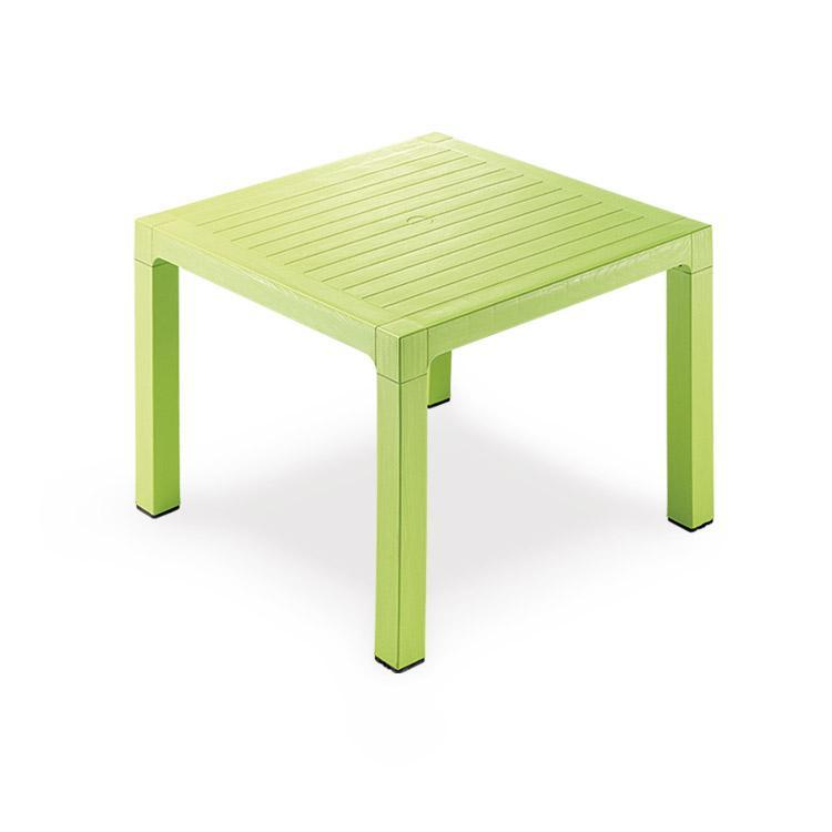 Novussi Classi 90 Rattan Green Table Outdoor Garden Furnitures Collections 35