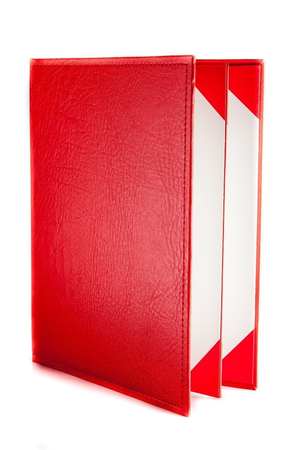 Menu Covers Made In Italian Faux Leather (12-Pack) - 8.5