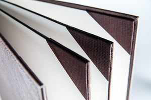 "Menu Covers Made In Italian Faux Leather (10-Pack) - 8.5"" X 11"" - 6 Views Brown - Rattanglobal"