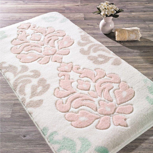 Antdecor Freedom Theme Non-Slip Bathroom Rug Shag Shower Mat Machine Washable Bath Mats with Water Absorbent Soft, 23