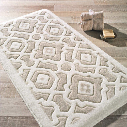 Antdecor Sierra Theme Non-Slip Bathroom Rug Shag Shower Mat Machine Washable Bath Mats with Water Absorbent Soft, 23