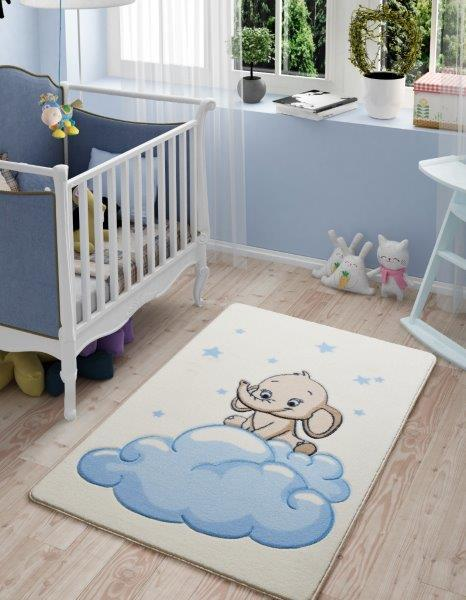 Baby Elephant Theme Healty Baby Rugs Antdecor Carpets Floor Mats 3'x 5' 39