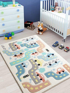 "Baby Car Theme Healty Baby Rugs Antdecor Carpets Floor Mats 3'x 5' 39""x 59"" 100x150 cm - Rattanglobal"