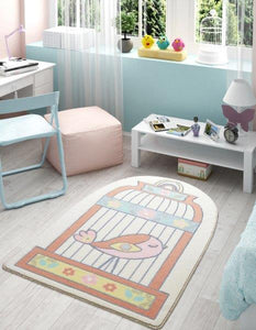 "Happy Cage Theme Healty Baby Rugs Antdecor Carpets Floor Mats 3'x 5' 39""x 59"" 100x150 cm - Rattanglobal"