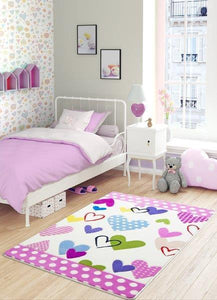 "Sweet Hearts Theme Healty Baby Rugs Antdecor Carpets Floor Mats 3'x 5' 39""x 59"" 100x150 cm - Rattanglobal"