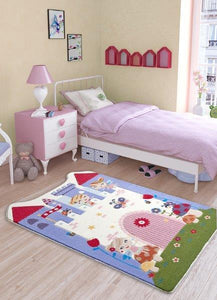 "Fairy Theme Healty Baby Rugs Antdecor Carpets Floor Mats 3'x 5' 39""x 59"" 100x150 cm - Rattanglobal"