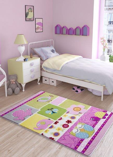Patchwork Theme Healty Baby Rugs Antdecor Carpets Floor Mats 3'x 5' 39