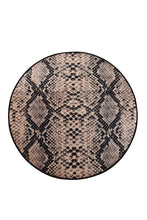 "Load image into Gallery viewer, RugstoreX Snake Round Bath Rug Area Rug Round Rug 40"" 100 cm"