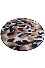 "Load image into Gallery viewer, Antdecor  Leopard Round Bath Rug Area Rug Round Rug 40"" 100 cm"