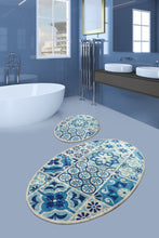 Load image into Gallery viewer, RugstoreX 2 Premier Carpet poster, Bathroom Carpet Set Anthracite