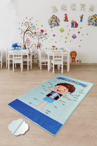 "Antdecor My Budy Rugs for kids Highway  3'x 5' 39""x 62"" 100x160 cm"