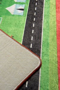 "RugstoreX City Rugs for kids Highway  3'x 5' 39""x 62"" 100x160 cm"