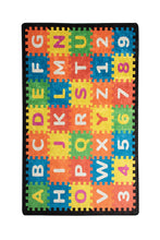 "Load image into Gallery viewer, RugstoreX Puzzle Rugs for kids Highway  3'x 5' 39""x 62"" 100x160 cm"